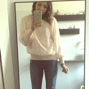 Chiffon pullover